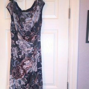 Connected apparel midi dress